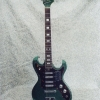 Vintage 1967 TeleStar 5004 Electric Guitar - Dark Green