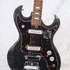 Vintage 1967 TeleStar Professional 5002 Electric Guitar - Black