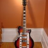 1950\'s Airline Town & Country Standard Electric Guitar (Sunburst);