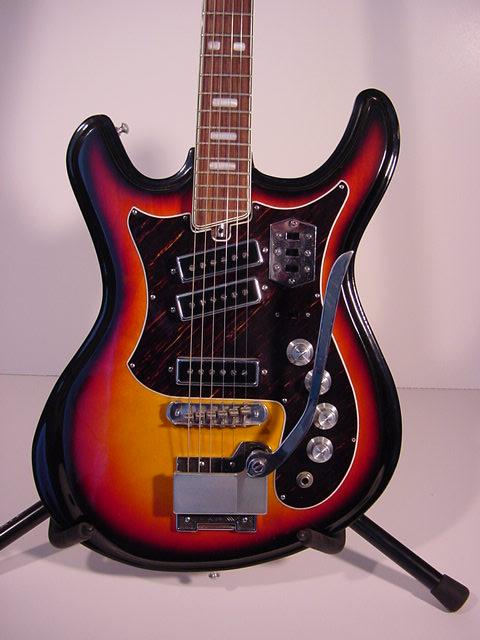 1960 S Silvertone Mosrite Guitar Back Catalog Memories