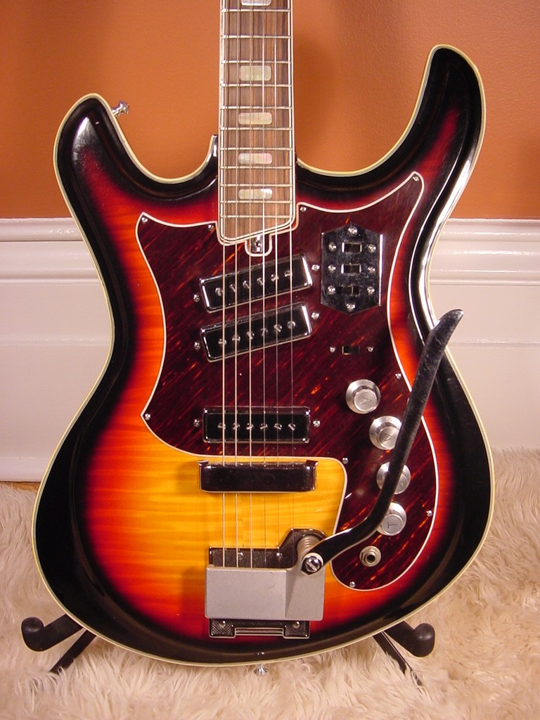 1960's Silvertone Mosrite Guitar (Back Catalog Memories ...