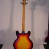 1970\'s UNIVOX Coily Bass Guitar (Sunburst)