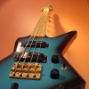 Vintage 1980's Aria Pro ZZ Bass Deluxe