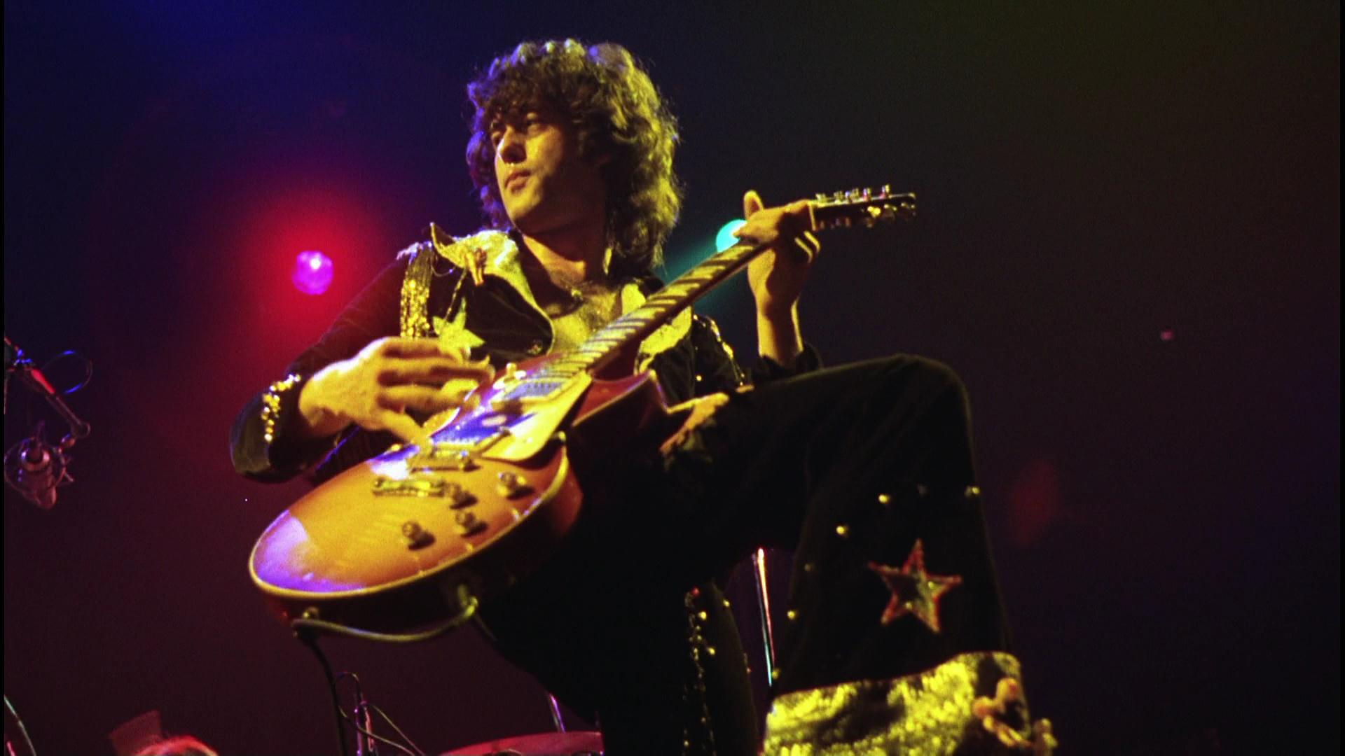 Jimmy Page Led Zeppelin live