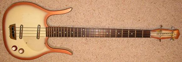 1959 Danelectro Longhorn Bass Guitar