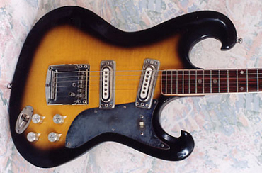 1960's Avalon Shaggs Electric Guitar