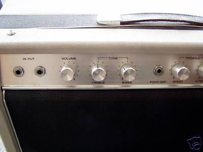 Vintage 1960's Guyatone GA-530A Guitar Amplifier