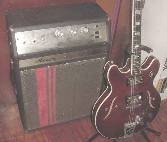 1960s Harmony 525B Bass Guitar Amp