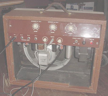 1960's Kay Dual 6V6 Vintage Guitar Amp