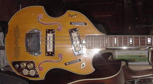 Rob S Crazy Ebay Finds 1960 S Kent Short Scale Bass Guitar