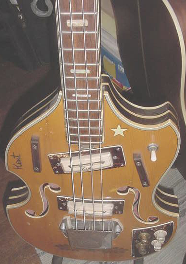 1960's Kent Short Scale Bass Guitar