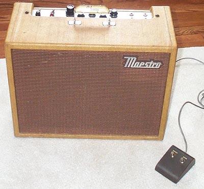 1960s Maestro Guitar Amp