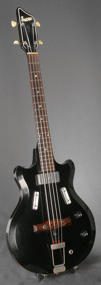 1960's Supro Airline Pocket Bass Guitar