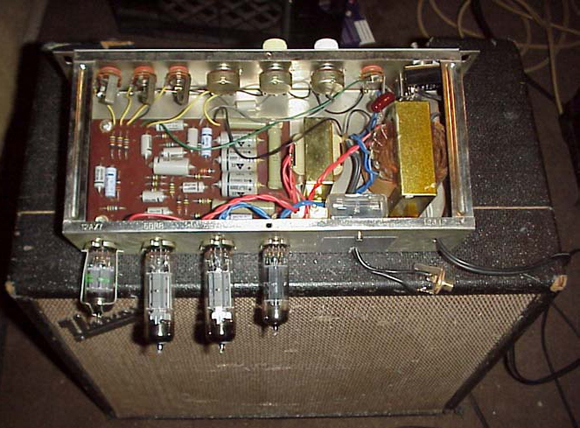 1960's Univox Guitar Amplifier