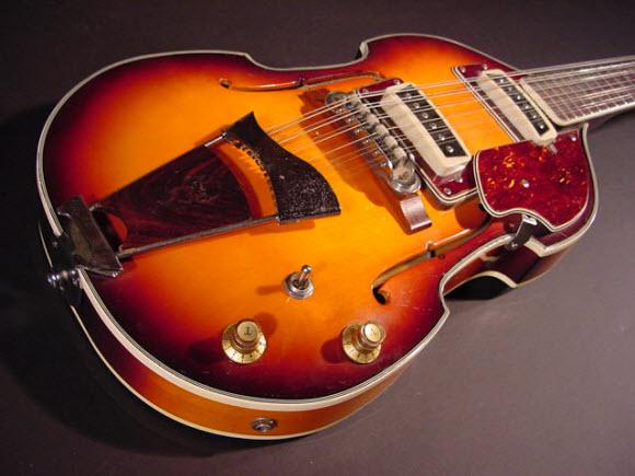 Vintage 1960's Conrad 12-String Electric Guitar