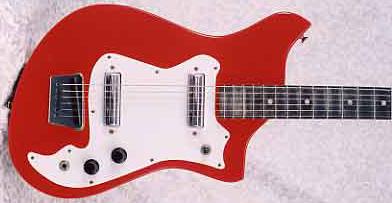 1965 Alamo Fiesta 2586R Electric Guitar