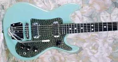 Vintage 1965 Juliett Delux Electric Guitar