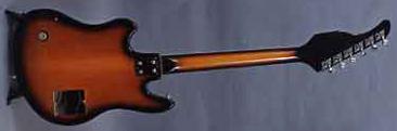 Vintage 1965 Teisco TRG-2L Electric Guitar
