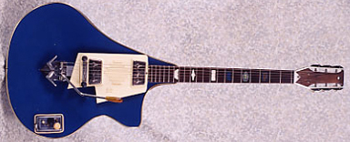 Vintage 1965 Wandré Modele Karak Electric Guitar