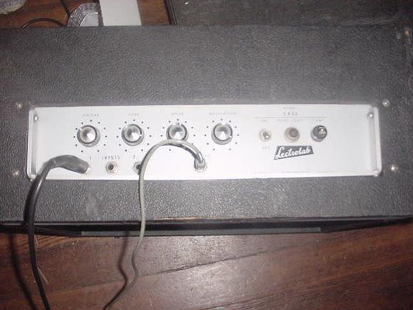 1966 Lectrolab S 400 Guitar Amplifier