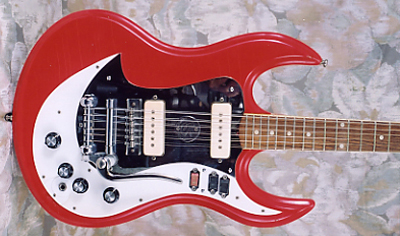 Vintage 1966 Standel Model 101 Custom Deluxe Electric Guitar