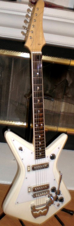 1966 Wurlitzer Gemini Electric Guitar
