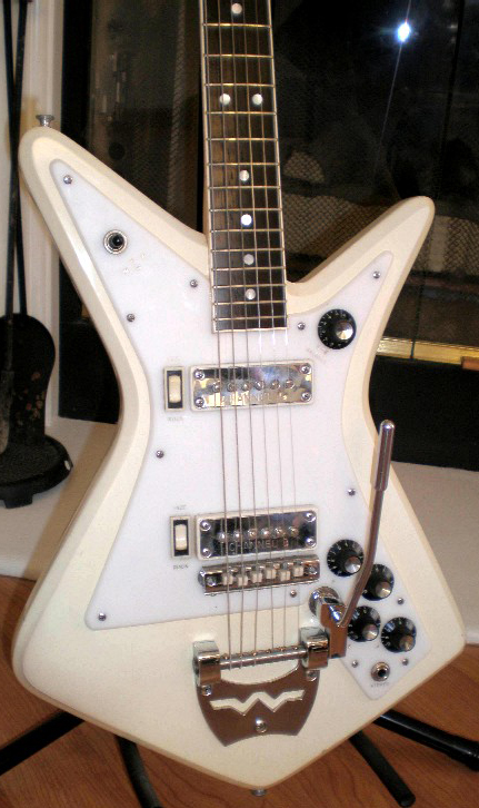 1966 Wurlitzer Gemini Electric Guitar