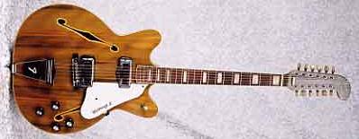1967 Fender Coronado XII Wildwood 12-String Electric Guitar