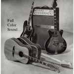 1967 Fender Wildwood Acoustic Guitar Ad