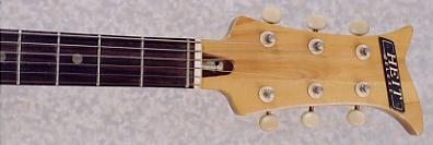 1967 Heit Deluxe V-2 Vintage Electric Guitar