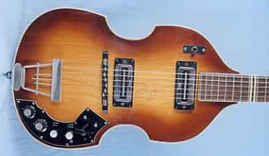 Vintage 1967 Hofner 459TZ Electric Guitar