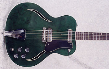 1967 Musicraft Messenger Electric Guitar