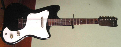 1968 Danelectro Sears Silvertone Electric Guitar