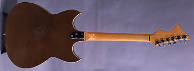 1968 Sekova Grecian Electric Guitar