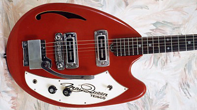 Vintage 1968 Teisco May Queen Electric Guitar