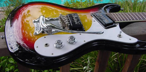 1970's Japanese Reproduction Mosrite Ventures Model Guitar