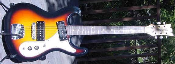 1970's Univox Mosrite Ventures Reproduction Guitar
