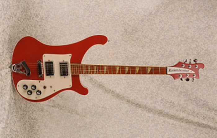 Vintage 1973 Rickenbacker 481 Electric Guitar with Slanted Frets
