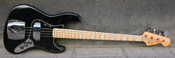 1977 Fender Jazz Bass Guitar
