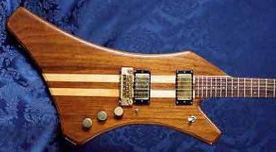 1981 O'Hagan Shark Custom Electric Guitar