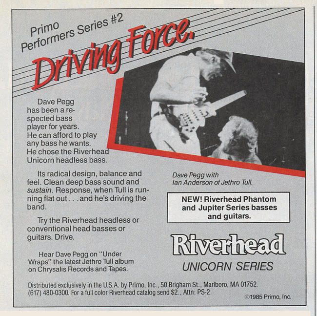 1985 Riverhead Unicorn Series Driving Force