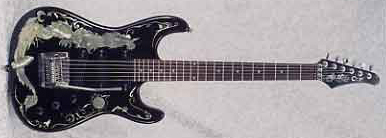 1987 Cort Dragon Electric Guitar