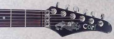 1987 Cort Dragon Electric Guitar