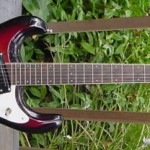 1987 Mosrite Ventures Model Electric Guitar NOS