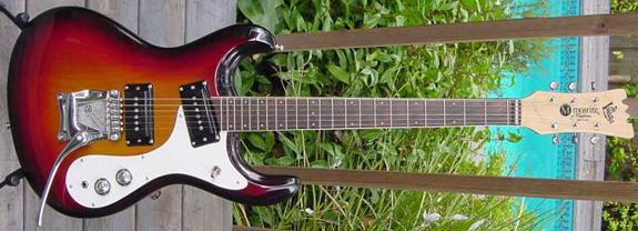 1987 Mosrite Ventures Model Electric Guitar NOS