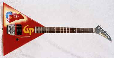 1989 Kramer Gorky Park Electric Guitar