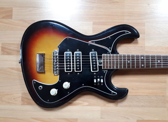 Vintage Burns guitar