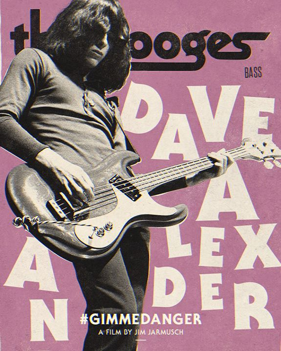 Dave Alexander and his Mosrite bass