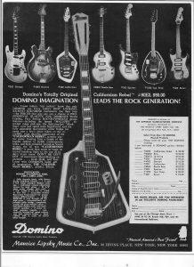 60s guitar ad