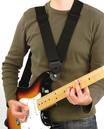 back friendly guitar strap